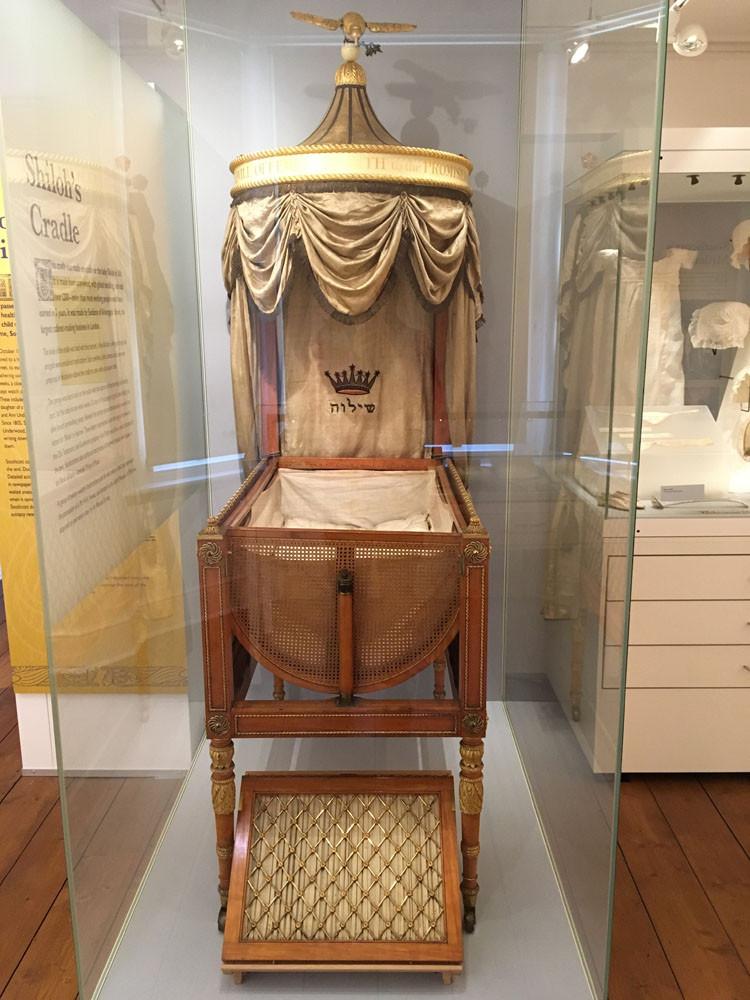 Shiloh's Cradle in the Panacea museum
