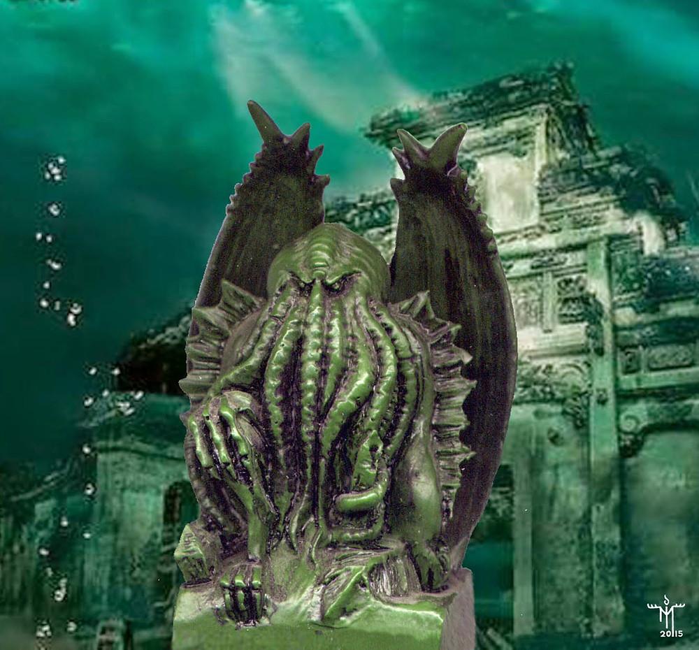 Great Cthulhu in R'lyeh