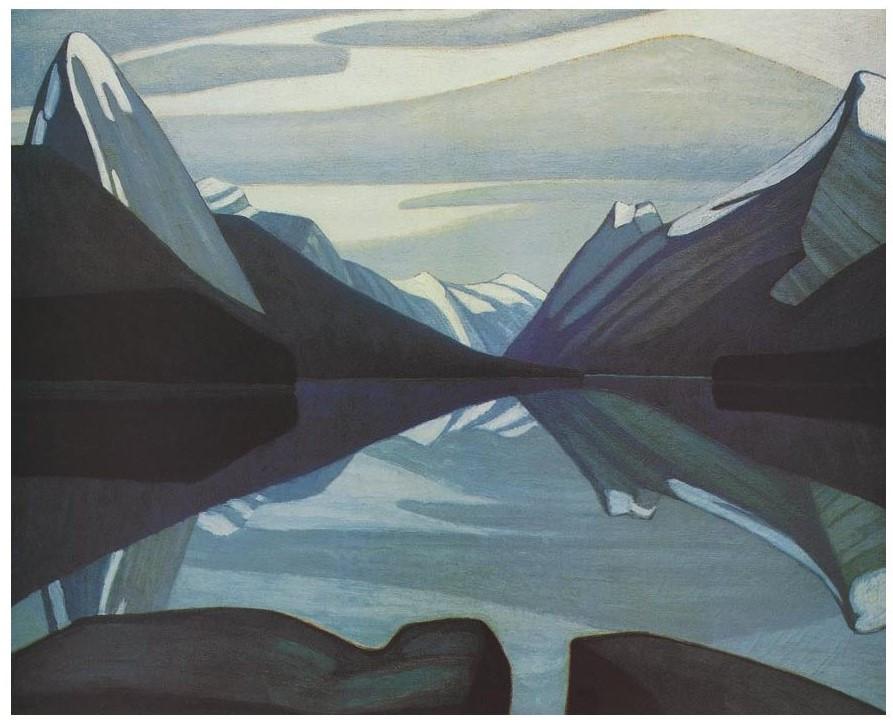 Maligne Lake, Jasper Park, by Lawren Harris