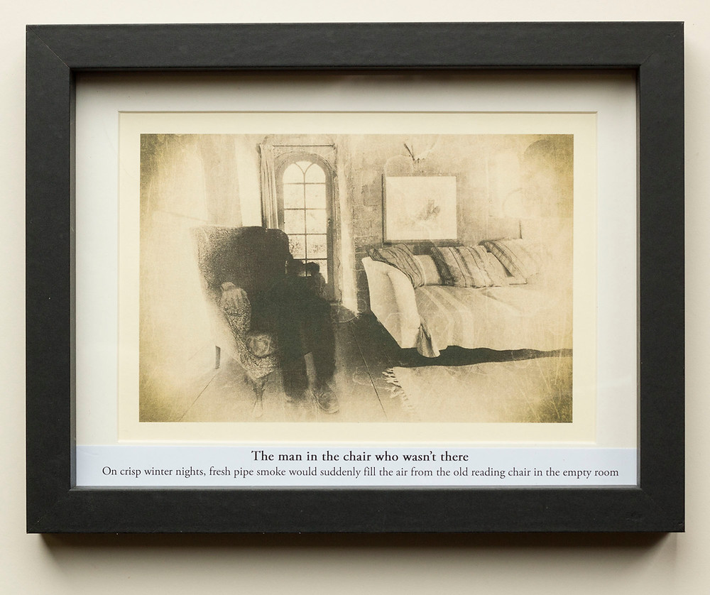 Framed mounted haunted pictures for sale