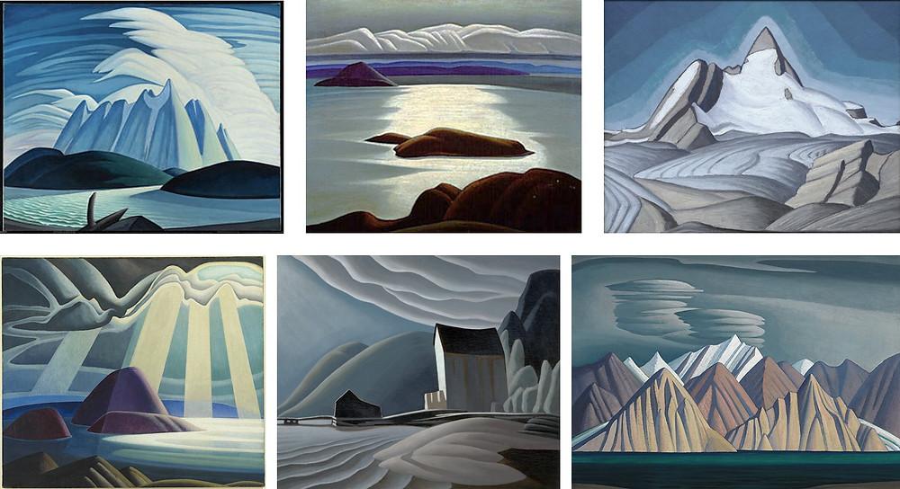 Lawren Harris paintings