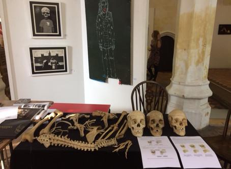 Skeleton day trip to meet the public