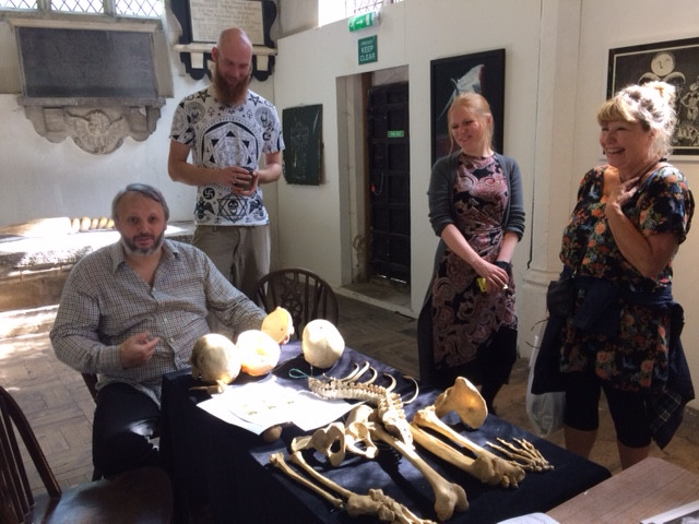 Attendees at the Human Bone Workshop, Norwich