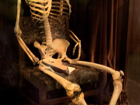 Who is the skeleton in Norwich Castle?