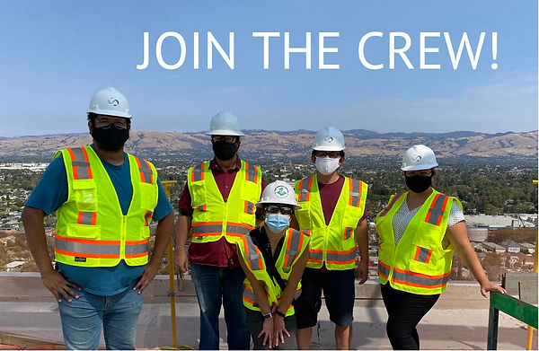 Image used on Careers page with Join the Crew text