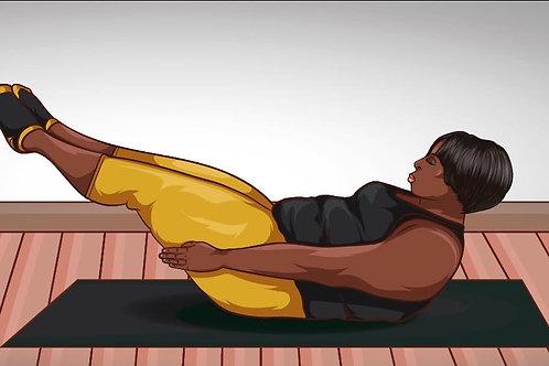 Black Girl Pilates ™ Black Girl Groove Pilates Mat