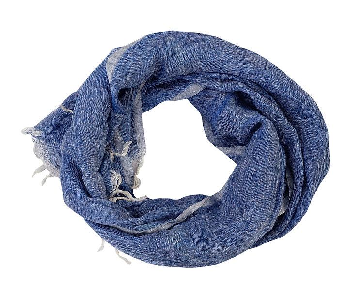 Blue Stole | Linen
