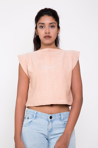 SLIT CROP TOP