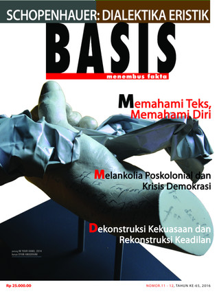 Majalah Basis No. 11-12, Tahun ke-65, 2016