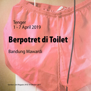 Berpotret di Toilet