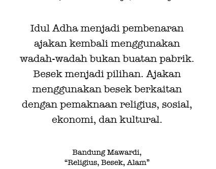 Religius, Besek, Alam