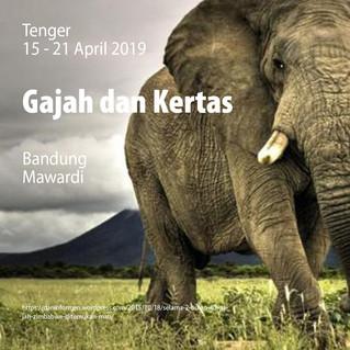Gajah dan Kertas