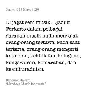 Membaca Musik Indonesia
