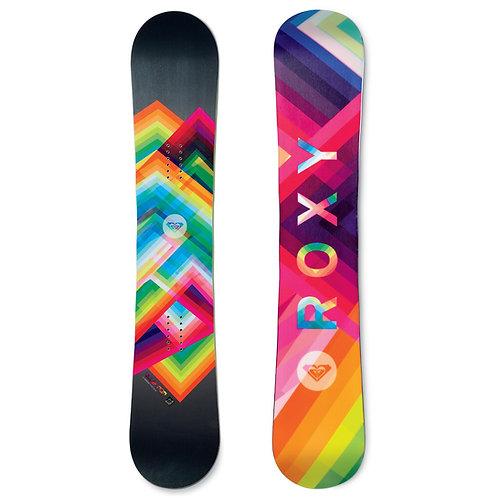 Roxy Ollie Pop C2BTX Banana Rocker Snowboard