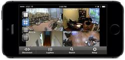Vista cámaras en ordenador