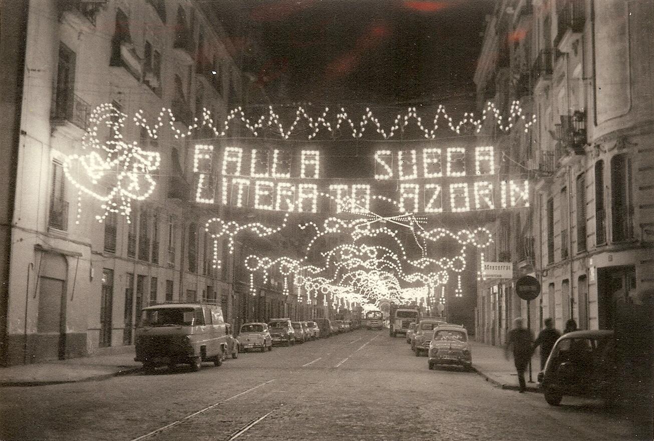 FALLA SUECA-LITERATO AZORÍN. 1972