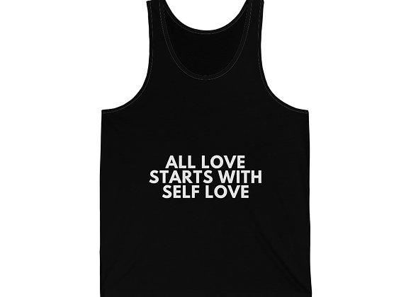 ALL LOVE STARTS WITH SELF LOVE-Unisex Tank