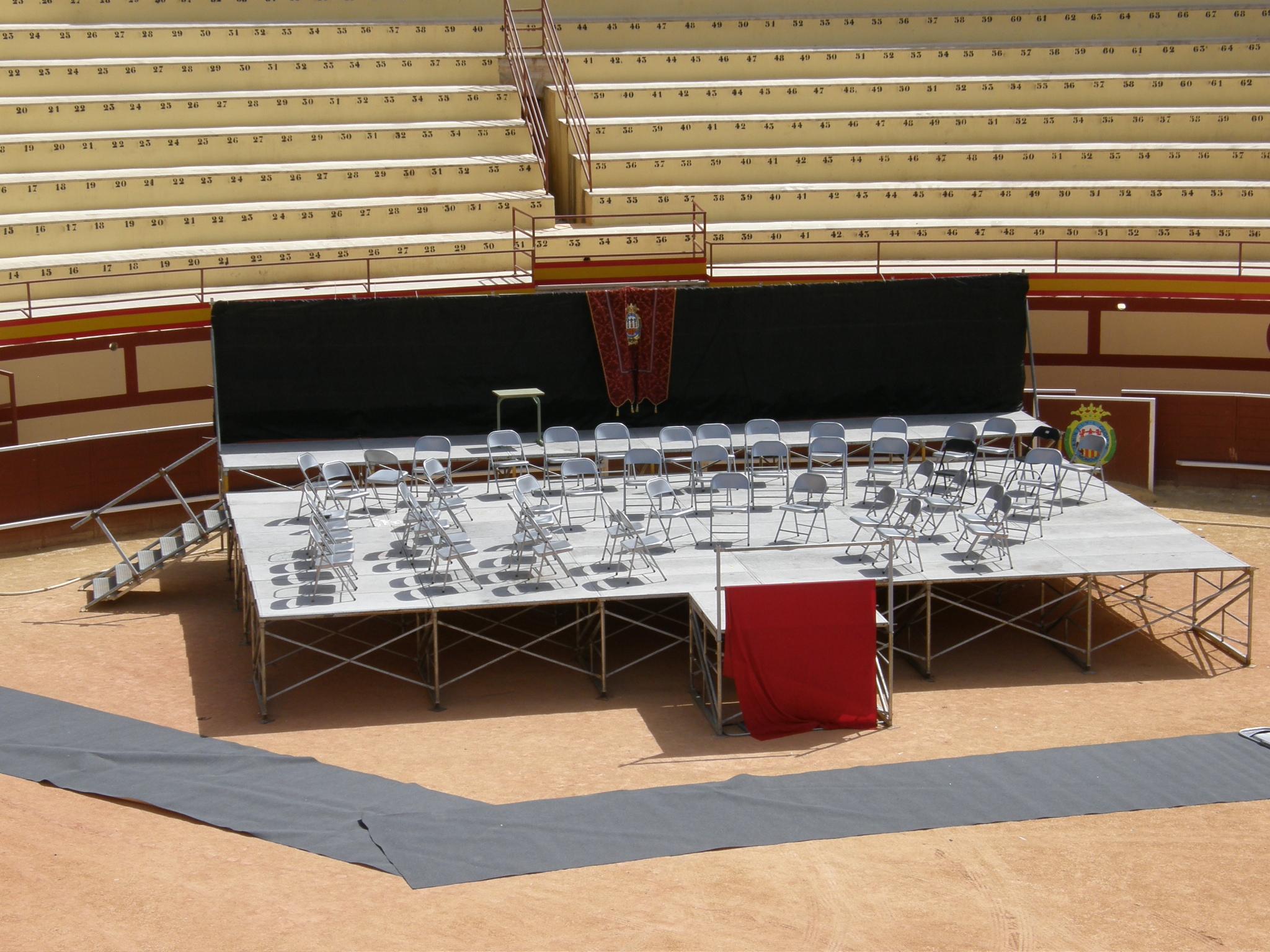 Escenario Plaza de Toros