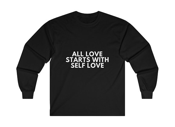 ALL LOVE STARTS WITH SELF LOVE- Men's Long Sleeve