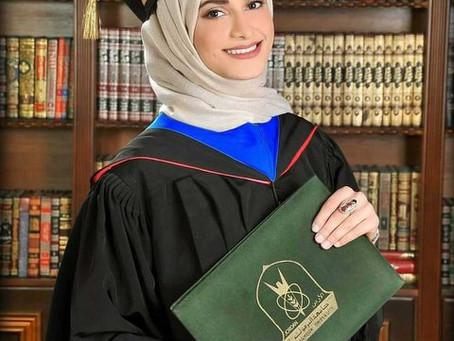 تهنئة للدكتورة بوران الكيلاني - USMLE NEWS: Congrats Dr. Kilany!