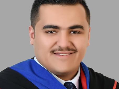 تهنئة للدكتور أحمد العبداللات - PLAB NEWS: Congrats Dr. Alabed Allat