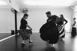 Flamenco dance instructor