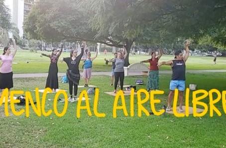 Outdoor classes this Saturday in Balboa Park!