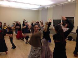 Flamenco dance instruction
