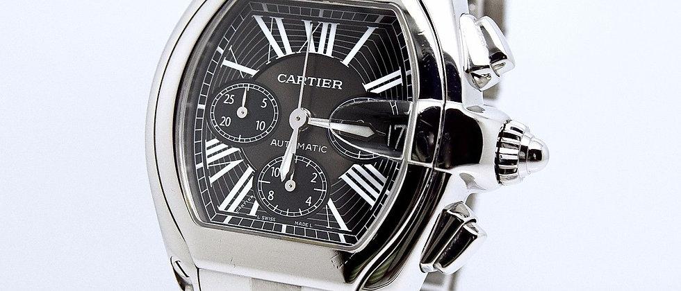 Cartier Roadster Chronograph XL Black Dial