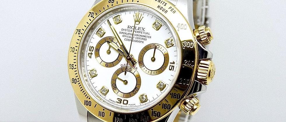 Rolex Daytona Cosmograph 116523 2014 Diamond Dial