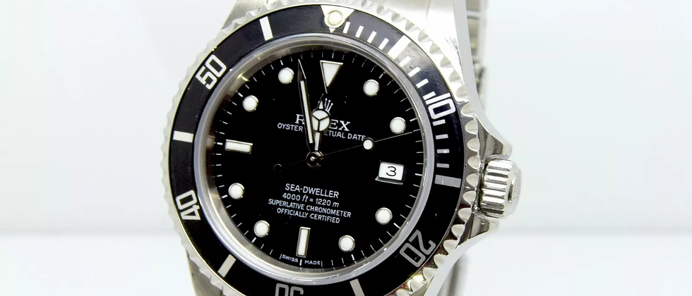 Rolex sea dweller 16600 Box and papers