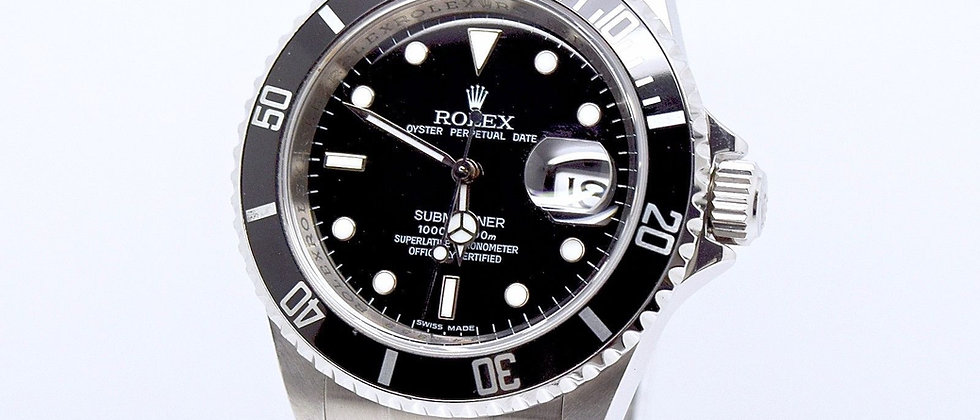 Rolex Submariner 16610 Box and Papers 2009 FULL SET RRR