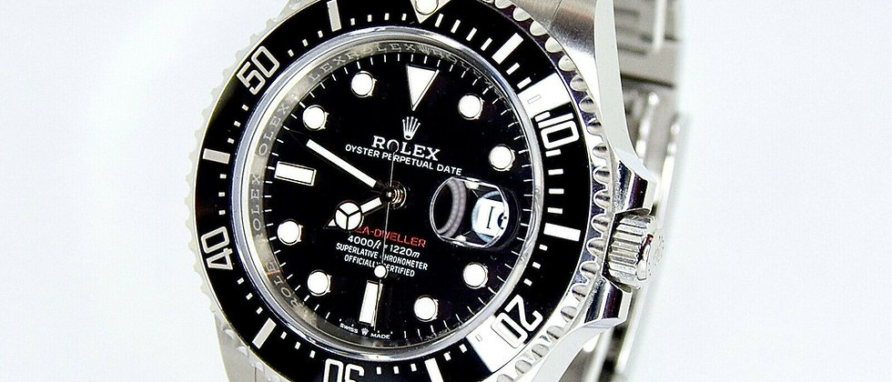 .Rolex Sea-Dweller Red 126600 Box & Papers 2019