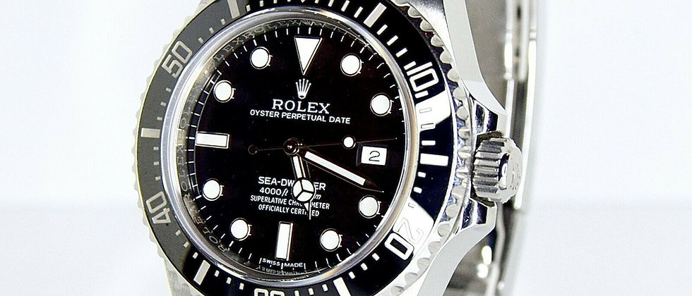 .Rolex Sea Dweller 116600 Box and Papers 2015 Discontinued Model