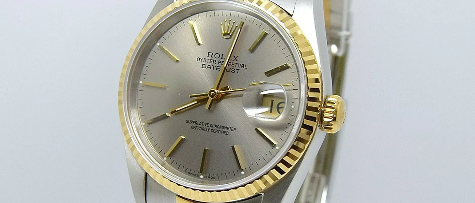 Rolex Datejust 16233 Box and Papers NOS