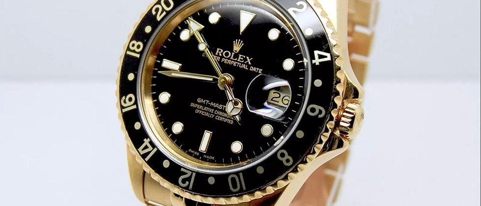 Rolex GMT Master II 16718 Rolex Service Papers