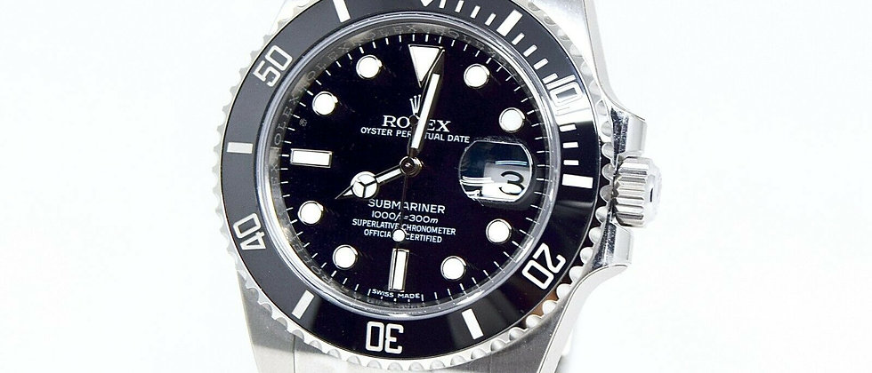 .Rolex Submariner 116610LN NEW Box and Papers 2018 UNWORN STICKERED