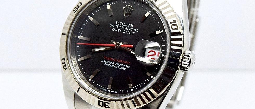 Rolex Date Just Turn-O-Graph 116264 FULL SET