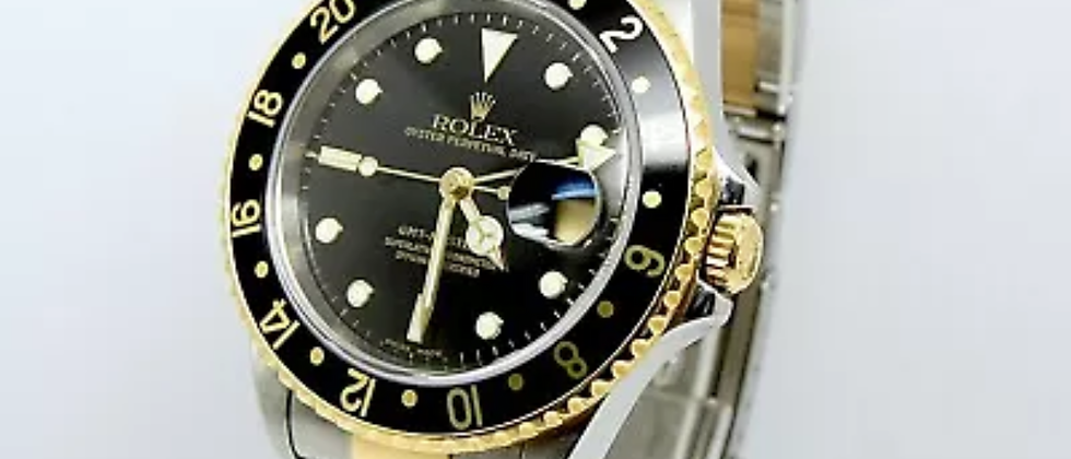 Rolex GMT Master II 16713 Box and Papers 2002
