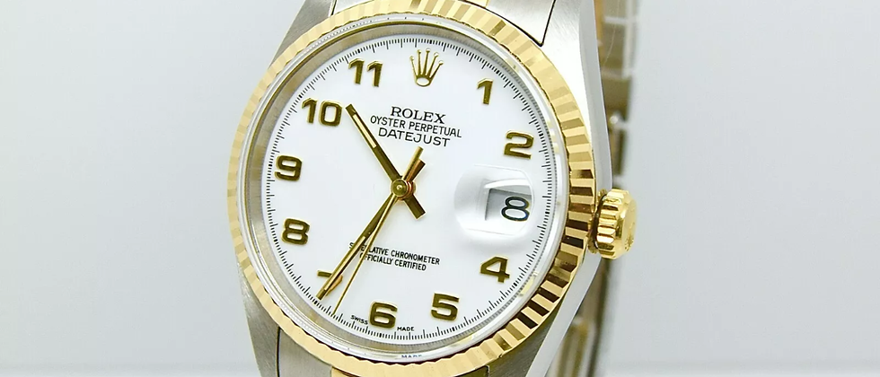 Rolex 16233 box and papers NOS