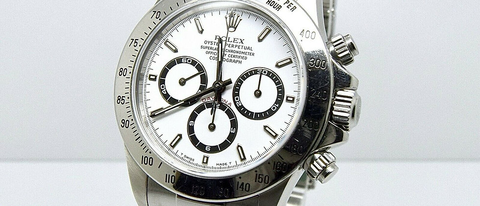 .Rolex Zenith Daytona 16520 Box and Papers Full Set U serial1998