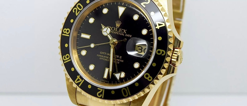 Rolex GMT Master II 16718 Box and Papers 2003 NOS New