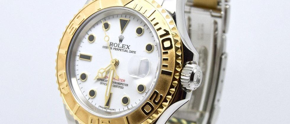 Rolex Yacht Master 16623 2005. 18K Gold & Steel