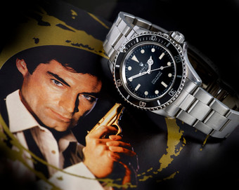 Rolex with James Bond provenance expected to fetch over £100,000 at auction