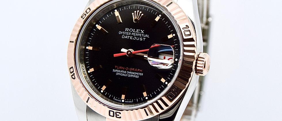 Rolex Date Just Turn-O-Graph 116261