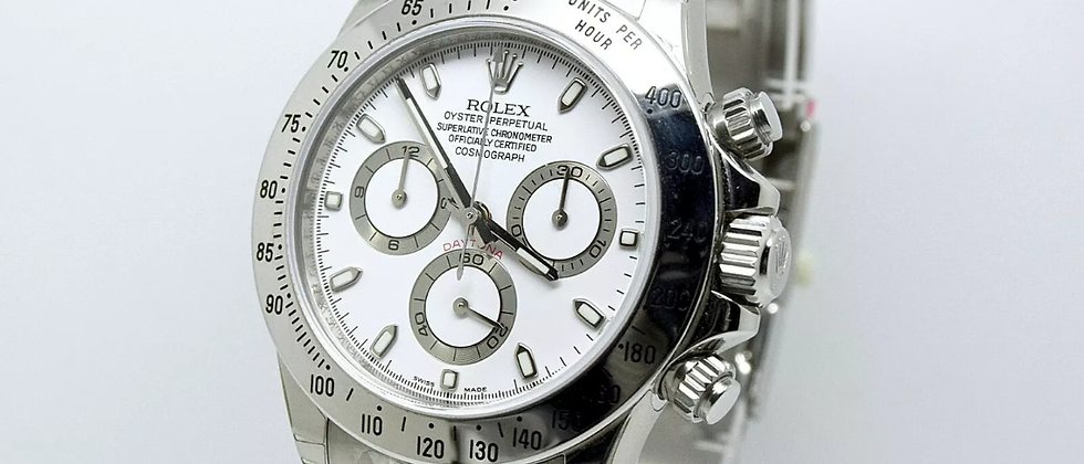Rolex Daytona 116520 Box and Papers Brand New/Unworn Full Factory Stickers