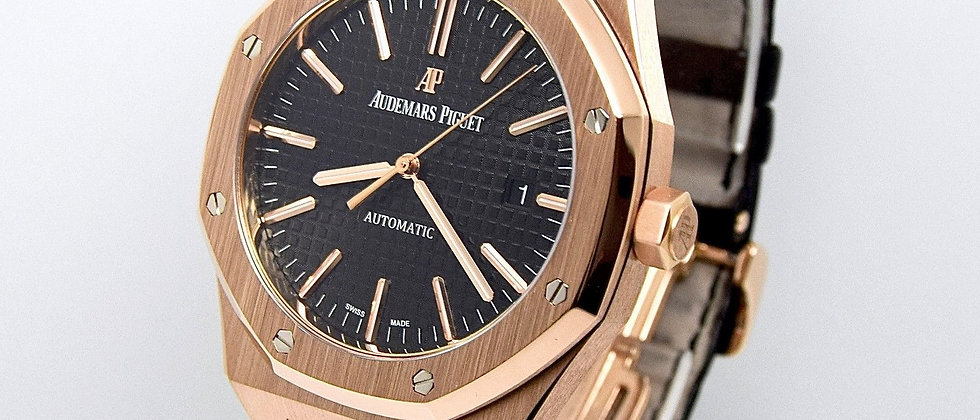 Audemars Piguet Royal Oak 15400OR Box and Papers 2015