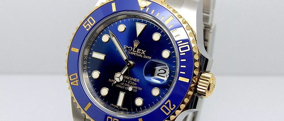 Rolex Submariner 116613LB Box and Papers 2018