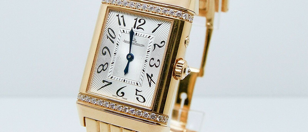 .Jaeger-LeCoultre Reverso Diamond Night&Day Floating Indicator Rose Gold 269.254