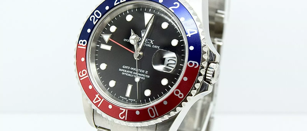 Rolex GMT Master II 16710 Box and Papers 2005
